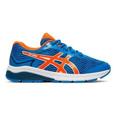Asis GT 1000 8 Kids Running Shoes Blue / Orange US 1, Blue / Orange, rebel_hi-res