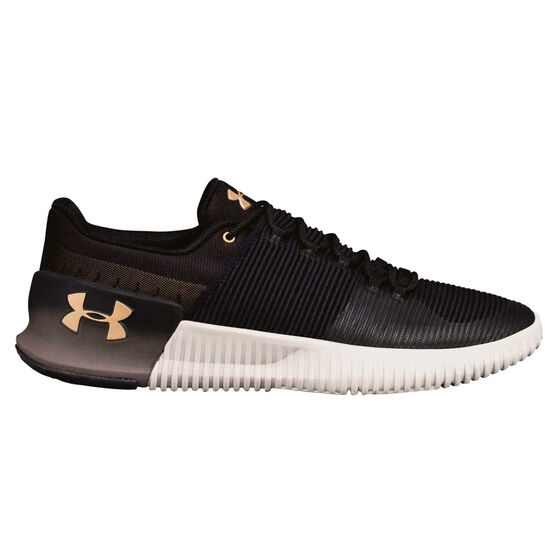 Under Armour Ultimate Speed Mens Training Shoes, Black, rebel_hi-res