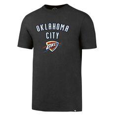 47 Brand Mens Oklahoma City Thunder Splitter Tee Grey S, Grey, rebel_hi-res