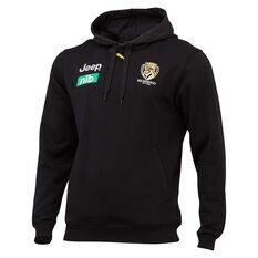 Richmond Tigers 2020 Mens Team Hoodie Black S, Black, rebel_hi-res