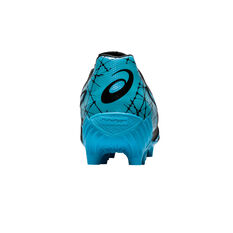Asics Lethal Tigreor IT FF Womens Football Boots, Black / Blue, rebel_hi-res