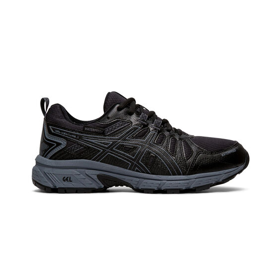 Asics GEL-Venture 7 Kids Running Shoes, Black / Grey, rebel_hi-res