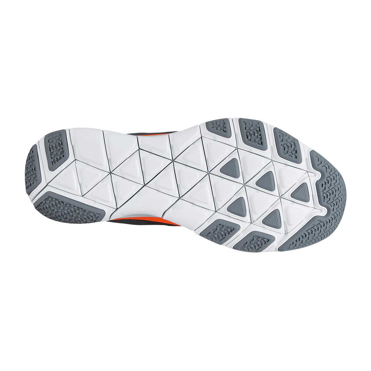 Nike Free Trainer V7  Hombres Zapatillas De Entrenamiento Gris  V7 Naranja. 75bdfd