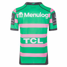South Sydney Rabbitohs 2021 Mens Women In League Jersey Green/Pink S, Green/Pink, rebel_hi-res