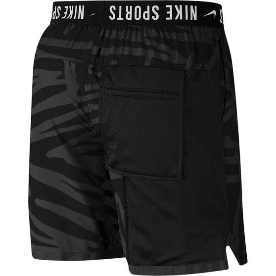 Nike Mens Training Shorts, Black / White, rebel_hi-res