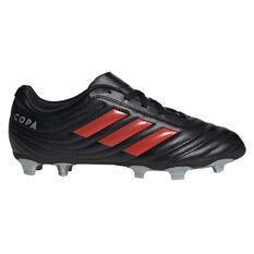 adidas Copa 19.4 Kids Football Boots Silver / Red US 11, , rebel_hi-res
