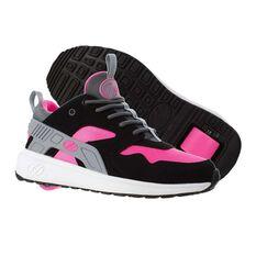 Heelys Force Girls Shoes Black / Pink US 1, Black / Pink, rebel_hi-res