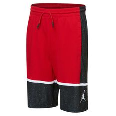 Nike Boys Jordan Graphic Panel Shorts Red / Black M, Red / Black, rebel_hi-res
