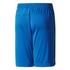 adidas Boys Gear Up Knit Shorts Royal / White 6 Junior, Royal / White, rebel_hi-res