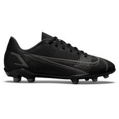 Nike Mercurial Vapor 14 Club Kids Football Boots Black/Grey US 1, Black/Grey, rebel_hi-res