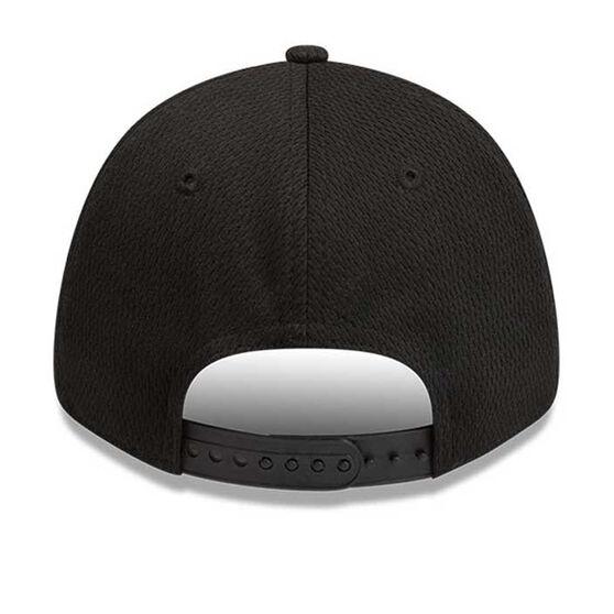 Adelaide Crows New Era 9FORTY Black on Black Cap, , rebel_hi-res