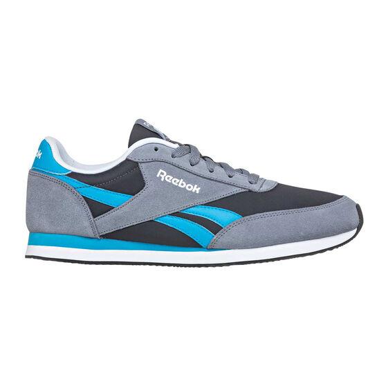 ccb53a3fc68 Reebok Royal CL Jogger Mens Casual Shoes Grey   Blue US 10