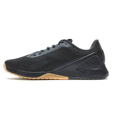 Reebok Nano X1 Mens Training Shoes Black US 7, Black, rebel_hi-res
