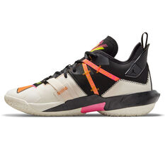 Jordan Why Not Zer0.4 Shattered Backboard Basketball Shoes Ivory US 7, Ivory, rebel_hi-res