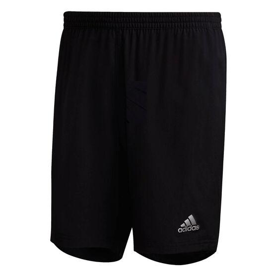 adidas Mens Run It Shorts Black M, Black, rebel_hi-res