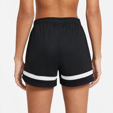 Nike Womens Dri-FIT Academy 21 Soccer Shorts, Black, rebel_hi-res