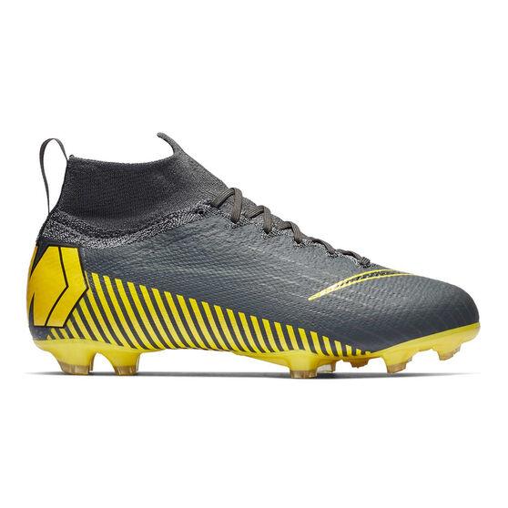 Nike Mercurial Superfly 6 Elite Kids Football Boots, Grey / Black, rebel_hi-res