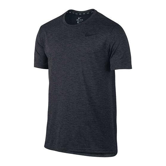 0b8d005e4 Nike Mens Hyper Dry Short Sleeve Training Tee Black S, Black, rebel_hi-res