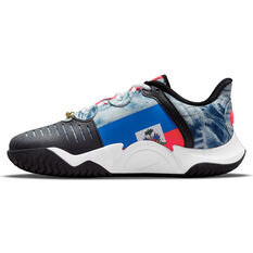 NikeCourt Air Zoom GP Turbo Hardcourt Womens Tennis Shoe White/Black US 6, White/Black, rebel_hi-res