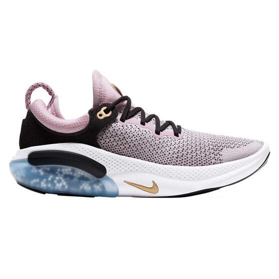 Nike Joyride Run Flyknit Womens Running Shoes, Purple / Black, rebel_hi-res