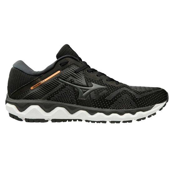 Mizuno Wave Horizon 4 Mens Running Shoes, Black / White, rebel_hi-res