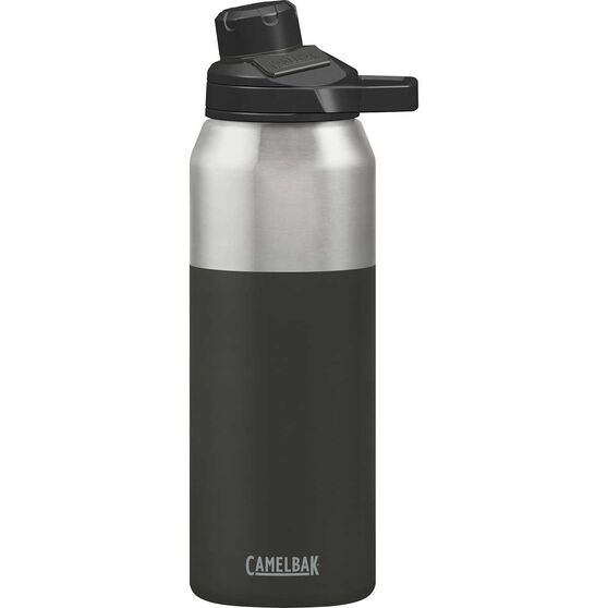 Camelbak Chute Magnetic Stainless Steel 1L Water Bottle Jet, Jet, rebel_hi-res