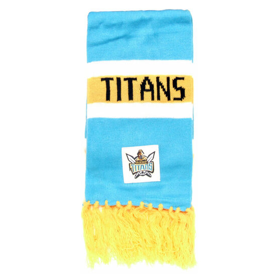 Gold Coast Titans Scarf, , rebel_hi-res