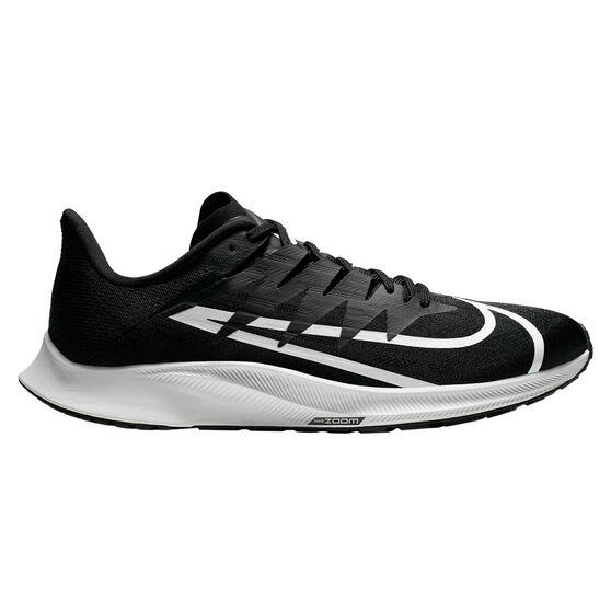 Nike Zoom Rival Fly Mens Running Shoes, Black / White, rebel_hi-res