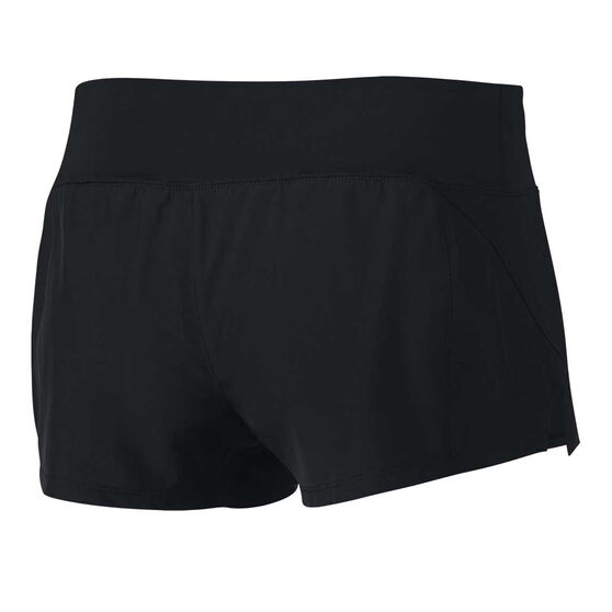 Nike Womens Dry Crew 2 Running Shorts, Black / Silver, rebel_hi-res