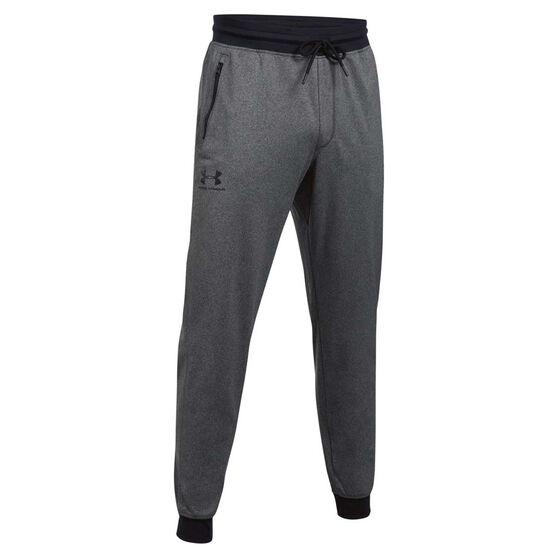 Under Armour Mens Sportstyle Jogger Pants Dark Grey S, Dark Grey, rebel_hi-res