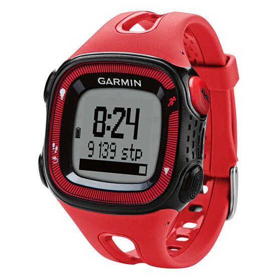 Garmin Forerunner 15 GPS Heart Rate Monitor Black / Red Medium / Large, , rebel_hi-res