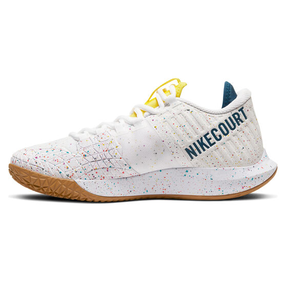 NikeCourt Air Zoom Zero Womens Tennis Shoes, White / Blue, rebel_hi-res