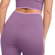 2XU Womens Engineered Shorts, Purple, rebel_hi-res