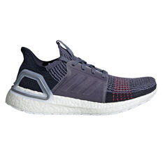 adidas Ultraboost 19 Womens Running Shoes Blue / Red US 5, , rebel_hi-res