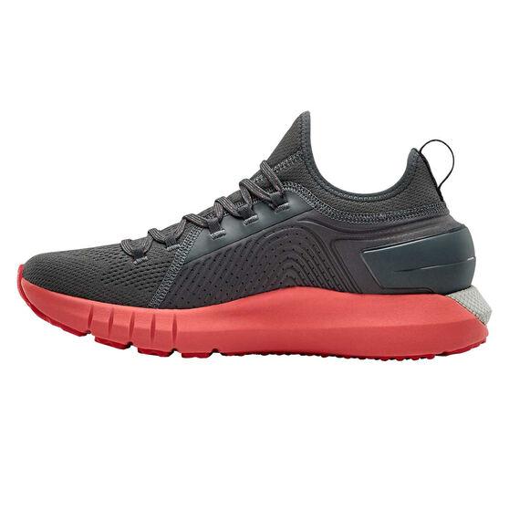 Under Armour HOVR Phantom SE Mens Running Shoes, Grey / Pink, rebel_hi-res