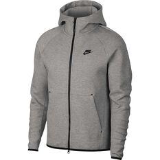 Nike Mens Sportswear Tech Fleece Windrunner Hoodie Dark Grey XS, Dark Grey, rebel_hi-res