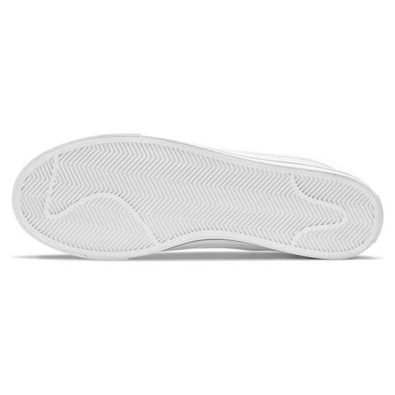Nike Court Legacy Canvas Mens Casual Shoes, White, rebel_hi-res