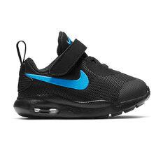 Nike Air Max Oketo Toddlers Shoes Black / Blue US 4, Black / Blue, rebel_hi-res