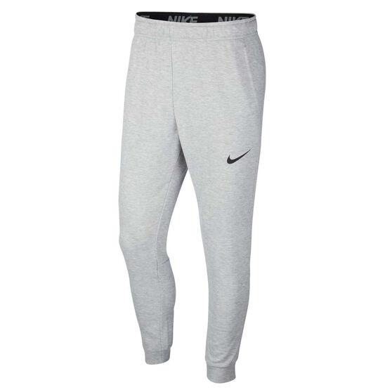 Nike Mens Dri-FIT Fleece Training Pants, Grey, rebel_hi-res