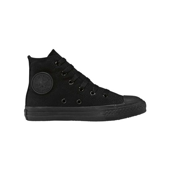 Converse Chuck Taylor All Star Classic High Top Kids Shoes, Black, rebel_hi-res
