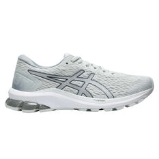 Asics GT 1000 9 Womens Running Shoes White/Silver US 6, White/Silver, rebel_hi-res