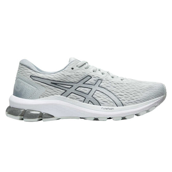 Asics GT 1000 9 Womens Running Shoes, White/Silver, rebel_hi-res