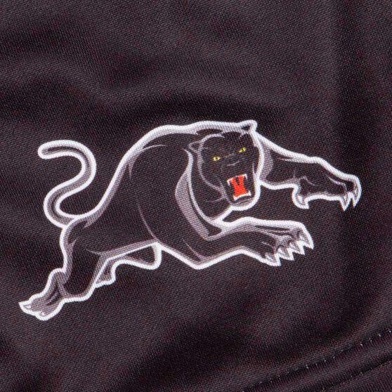 Penrith Panthers 2020 Mens Training Shorts, Black, rebel_hi-res