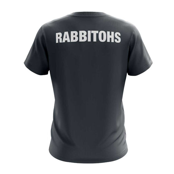 South Sydney Rabbitohs Exclusive Tee, Grey, rebel_hi-res
