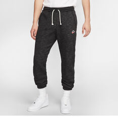 Nike Sportswear Heritage Mens Track Pants Black S, Black, rebel_hi-res
