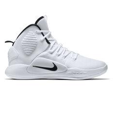 Nike Hyperdunk X TB Mens Basketball Shoes White / Black US 7, White / Black, rebel_hi-res