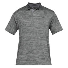 Under Armour Mens Performance  2.0 Polo Grey S, Grey, rebel_hi-res