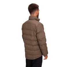 Macpac Men's Halo Down Jacket, Brown, rebel_hi-res