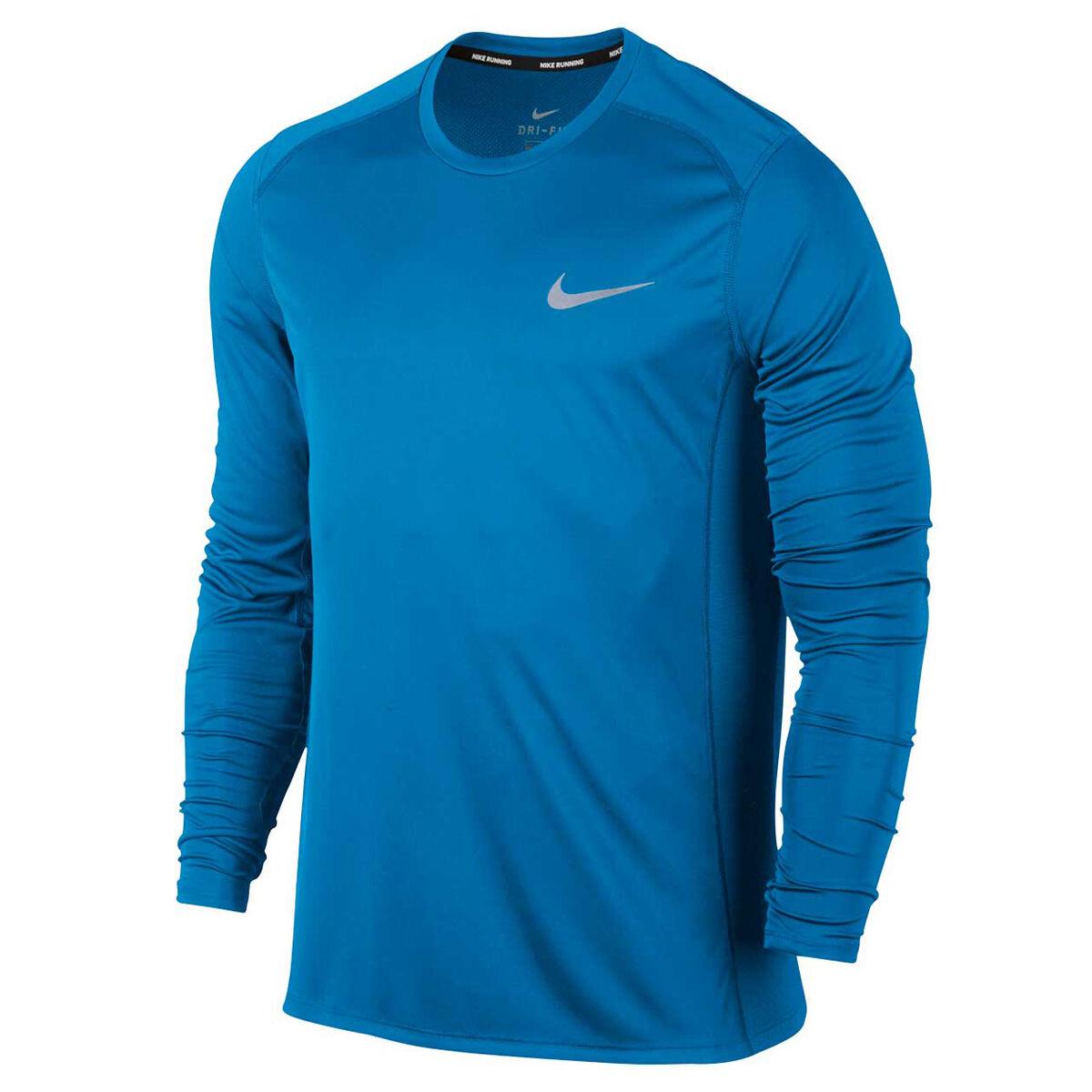 e66b2ebf1 Nike mens dri fit miler long sleeve tee rebel sport jpg 1000x1000 Chiefs  nike red long