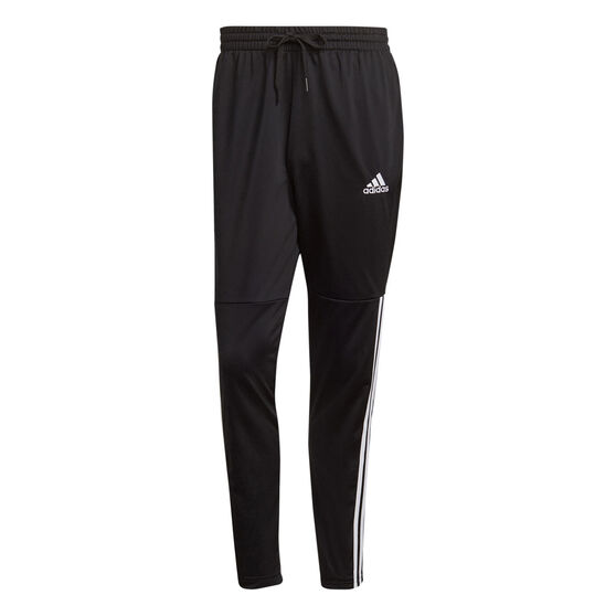 adidas Mens 3S Training Snap Pants, Black, rebel_hi-res